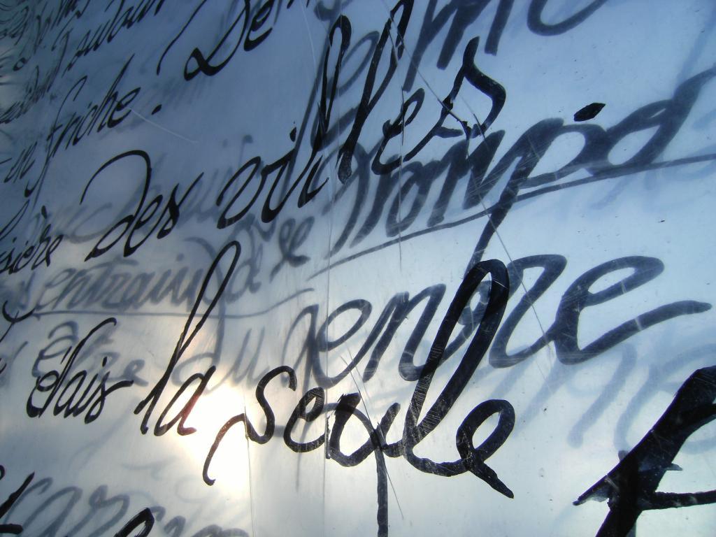 Écritures réactives [Tourcoing, France], 7 mars 2008. Photo : Éric Noël.
