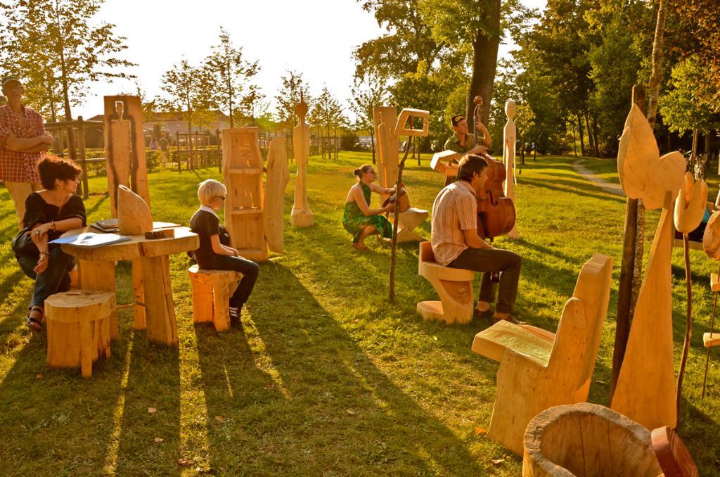 Félix Tùrbine, parc de Montaigu [Jarville-la-Malgrange], septembre 2011. Photos : Silou.